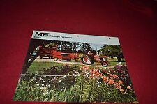 Massey Ferguson 12 124 126 Baler Dealer's Brochure Dcpa