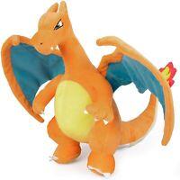 "Pokémon Charizard Plush Stuffed Animal Toy - Large 12"" - Ages 2+"