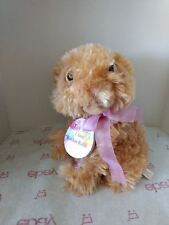 "Animated Brown Bunny Plush 8"" - Rockin Rabbit"