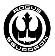 Star Wars Rogue Squadron, Vinilo Autoadhesivo Con Coche Furgoneta portátil