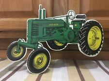 JOHN DEERE Tractor Metal Farm Equipment Vintage Style IH Farmall Tools Country