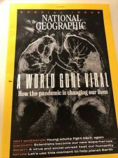 National Geographic November 2020  - A World Gone Viral, Free Shipping