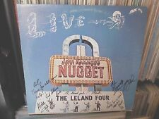 """PRIVATE US RURAL ROCK LOUNGE LP The Leland Four """"Live At Ascuagas Nugget"""" Signed"""
