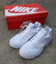 Nike Air Huarache Mens White Trainers - UK 9 BNWB - bought from ASOS