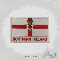 Northern Ireland Country Flag Patch Iron On Patch Sew On Embroidered Patch