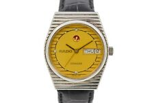 Vintage Rado Voyager 636.4015.2G Steel Automatic Midsize Watch 65