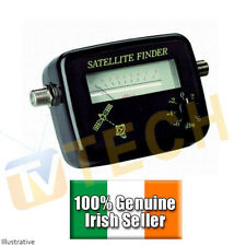 Sat Finder, Satellite Signal Meter Finder, Free TV Finder, F-type Connection