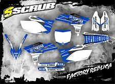 SCRUB Yamaha graphics decals kit YZf 250 2010- 2013 stickers YZ250f '10-'13
