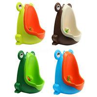 Frog Boy Kids Children Baby Potty Urinal Pee Toilet Training Trainer Bathroom A