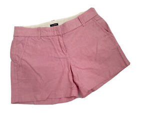 """J. Crew Shorts 2 XS Pink City Fit Cotton Casual 3.5"""" Summer Wear"""