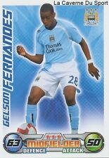 FERNANDES  SWITZERLAND MANCHESTER CITY.FC FC.SION CARD PREMIER LEAGUE 2009 TOPPS