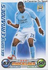 FERNANDES  SWITZERLAND MANCHESTER CITY.FC FC.SION CARD PREMIER LEAGUE 2009 TOPPS