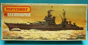 MATCHBOX PK-165 1/700 USS INDIANAPOLIS PORTLAND CLASS HEAVY CRUISER MODEL KIT