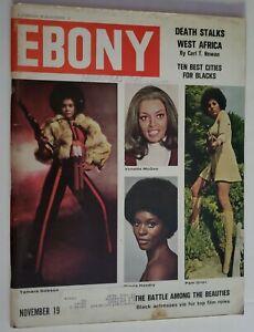 1973 Ebony Magazine Tamara Dobson Pam Grier Gloria Hendry Vonetta McGee Al Green