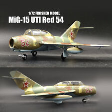 Russia MiG-15 UTI Red 54 August 1980 1/72 aircraft finished plane Easy model