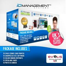 Evolis Zenius Single Sided Card System • Printer & Consumables • 5000+ Sold
