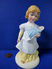 """1981 AVON A Mothers Love Porcelain Baby Shower Cake Topper Mom Figurine 6"""" NWT!"""