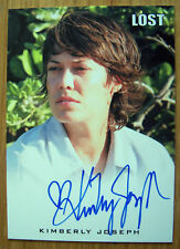 Lost Relic Autograph Card Kimberly Joseph