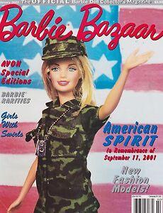 FEB 2002 - BARBIE BAZAAR vintage doll magazine