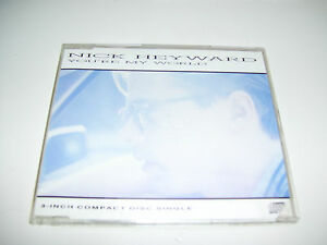 "NICK HEYWARD - YOU'RE MY WORLD * RARE 4 track 3"" CD MAXI GERMANY 1988 *"