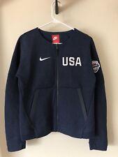Women's Nike Tech Fleece Team USA Olympics Basketball Full Zip Jacket Sz Small