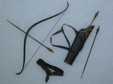 Legolas Lord of the Rings Bow, Quiver & Arrows ~ Newly Unboxed ~ Free U.S. Ship