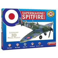 Cheatwell Build Your Own Supermarine Spitfire 3d Puzzle Mark IX Model Plane