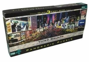 Panoramic Puzzle NYC Times Square 750 New York City Jigsaw 3 Ft Wide Buffalo