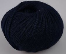 Zarela ARAN Super Soft 100% Luxurious Baby Alpaca Yarn - Dark Blue