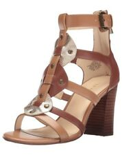 NINE West Vestito Da Donna nwbraddy 3 Sandalo Cognac Multi 75 UK 405 EU