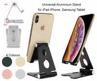 Universal Aluminium Desktop Desk Stand iPad Tablet iPhone Samsung LG  Holder