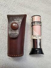 Vintage Antique Bewi Junior Mod. II Exposure Light Meter Gauge & Case, Germany