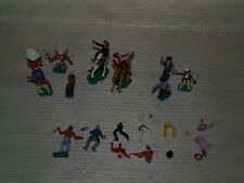 Lot indiens & cowboys - 2 chevaux  - TIMPO GT BRITAIN - LONE STAR - SWOPPETS