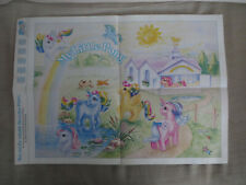 VINTAGE 1980s 1985 MY LITTLE PONY POSTER APOLOGY PROMO G1 PONIES
