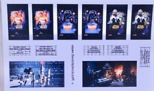 Custom stickers for LEGO 10232 CInema Star Wars Trilogy New Hope Empire Strikes