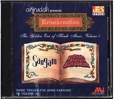Hindi Karaoke CD Reincarnation The Golden Era Of Hindi Music Volume 1 Aniruddh