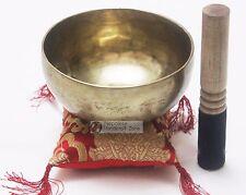 """7"""" Tibetan Plain Singing Bowl set - Handmade 7 Metal Singing Bowl"""