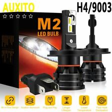 12000LM Super Bright H4 9003 LED Headlight Kit Hi/Low Beam Bulb 6500K WHITE M2 V