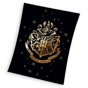 Harry Potter Koral-Fleecedecke 150x200 Kuschel-decke Tagesdecke Schmusedecke