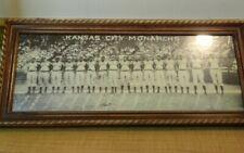 """Kansas City Monarchs Stretch photo w/ Buck O'Neil & S Paige 18""""x7"""" approx 1938"""