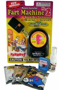 ULTIMATE FART PRANK KIT - 1 Fart Machine 3 Stink Bombs 1 Liquid Ass 3 Fart Bombs