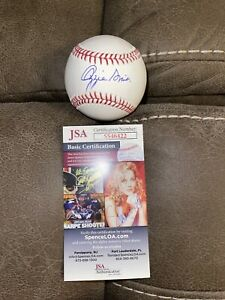 OZZIE SMITH SIGNED BASEBALL ST LOUIS CARDINALS JSA HALL OF FAME ALL STAR 3