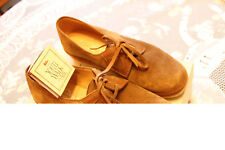 Ladies Carcavelos Shoes. Suede. Hand-made. Size 6. Brand new. Taupe colour.