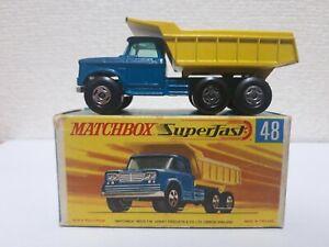 Matchbox - #48 Dodge Dumper Truck
