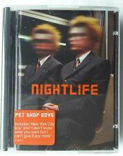 "MiniDisc  Pet Shop Boys  ""Nightlife"""