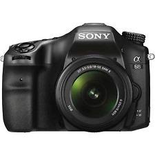 A-Sony Alpha A68 Numérique Slt Caméra + 18-55 mm II Lens-remis à neuf