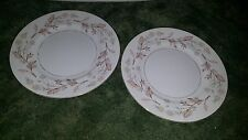 Lot of 2 Harmony House Fine China Woodhue Dinner Plate 10""
