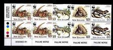 NEW ZEALAND - NUOVA ZELANDA - 1991 - WWF. Protezione della natura. Tuatara