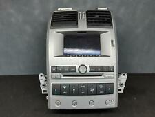 FORD TERRITORY STEREO/HEAD UNIT STANDARD CD PLAYER, COLOR SCREEN TYPE, SX-SY MKI