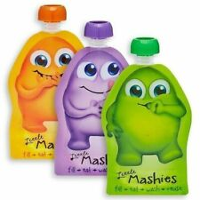 Little Mashies Food Pouches - 10 Pack